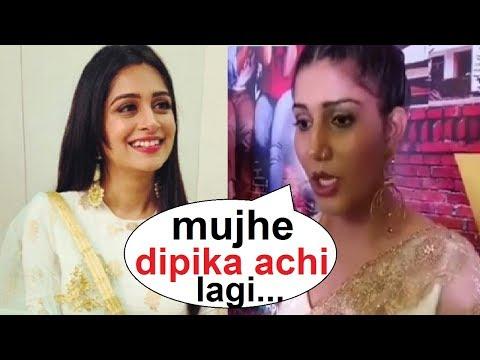 Omg! Dipika हैं Sapna की Favorite contestant   Sapna Chaudhary Supporting Dipika Kakkar   FCN