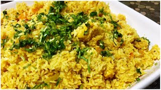 How to cook Easy Vegetable Rice / Quick Lunch Fix