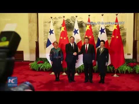 China and Panama sign new railway financing agreements