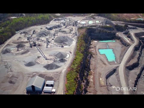 Luck Stone leverages UAV aerial data analysis to improve quarry operations