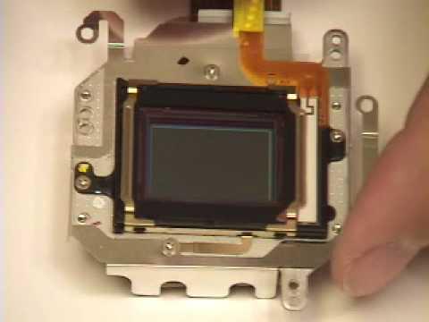 Canon 5D Mark II / 50D Fluorine Sensor Filter Cleaning