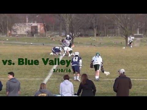 Blue Valley Lacrosse 3/10/16