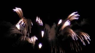 りゅうじゅさんがリズミカルで華やかな曲を創作されました、花火の映像...