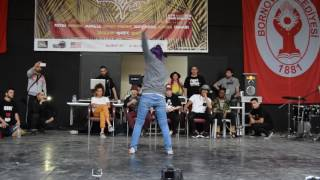 Hip Hop For Life battle vol.5, Bgirl battle final Agnes vs Mina