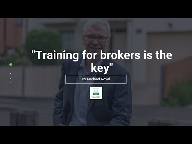 Training For Brokers Is The Key | BIR Solutions