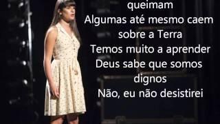 Glee - I Won't Give Up (Tradução)