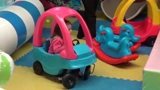 Игровой центр семейного досуга и отдыха для детей! Видео для девочек и мальчиков(Центр семейного досуга и отдыха для детей: детский лабиринт, батут, игровые симуляторы, игровая площадка,..., 2016-03-01T21:32:50.000Z)