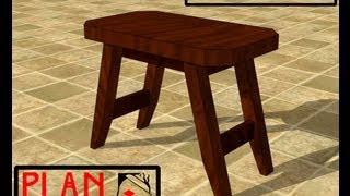 Chief's Shop Plan Of The Week: Accent Stool
