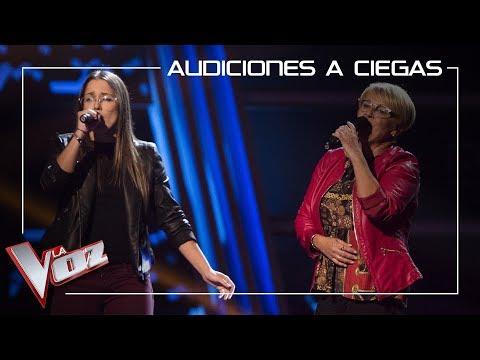 Laura Nieves Y Carmen Bautista Cantan 'Contigo Aprendí' | Audiciones A Ciegas | La Voz Antena 3 2019