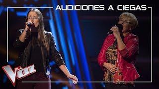 Laura-Nieves-y-Carmen-Bautista-cantan-Contigo-aprendí-Audiciones-a-ciegas-La-Voz-Antena-3-2019