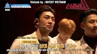 [Vietsub] Dongho speaks up with Avenger Team CUT - PRODUCE 101 Season 2 Ep 4