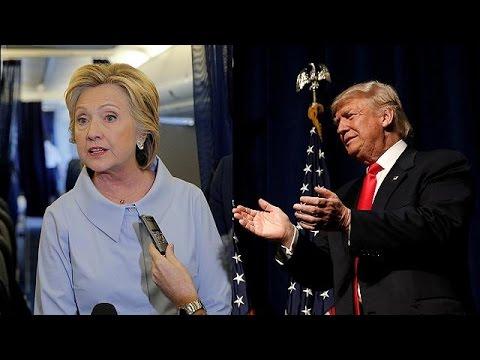 Clinton and Trump talk tough at commander-in-chief forum