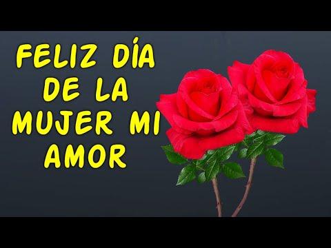 Feliz Dia De La Mujer Mi Amor Mensaje Bonito Por El Dia De La Mujer Youtube Eres delicada, pero al mismo tiempo fuerte; feliz dia de la mujer mi amor mensaje bonito por el dia de la mujer
