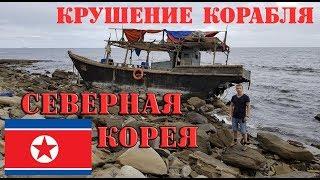 Исследование корабля Северной Кореи после крушения у берегов Владивостока, остров Русский