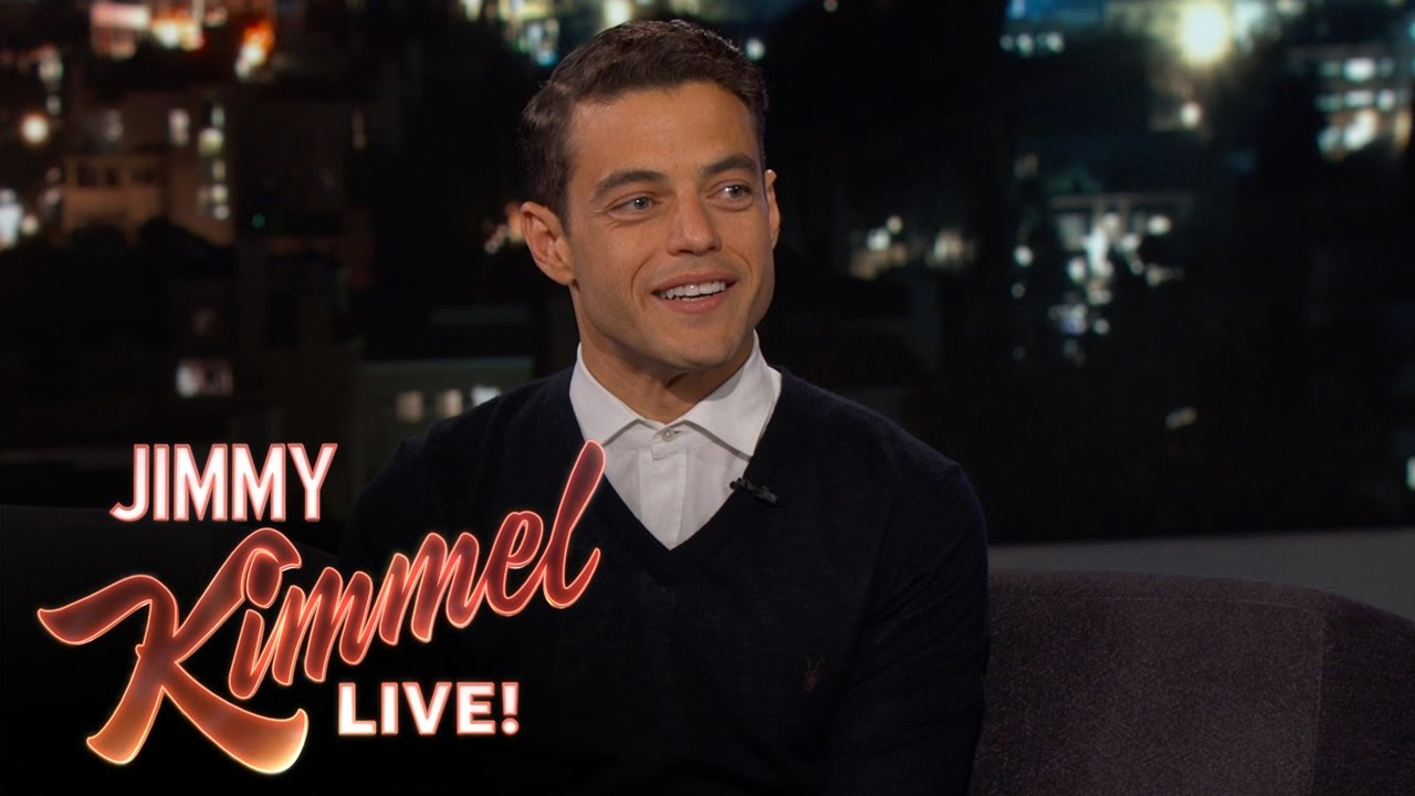 Rami Malek Ran Into Ex Immediately After Winning An Emmy Youtube