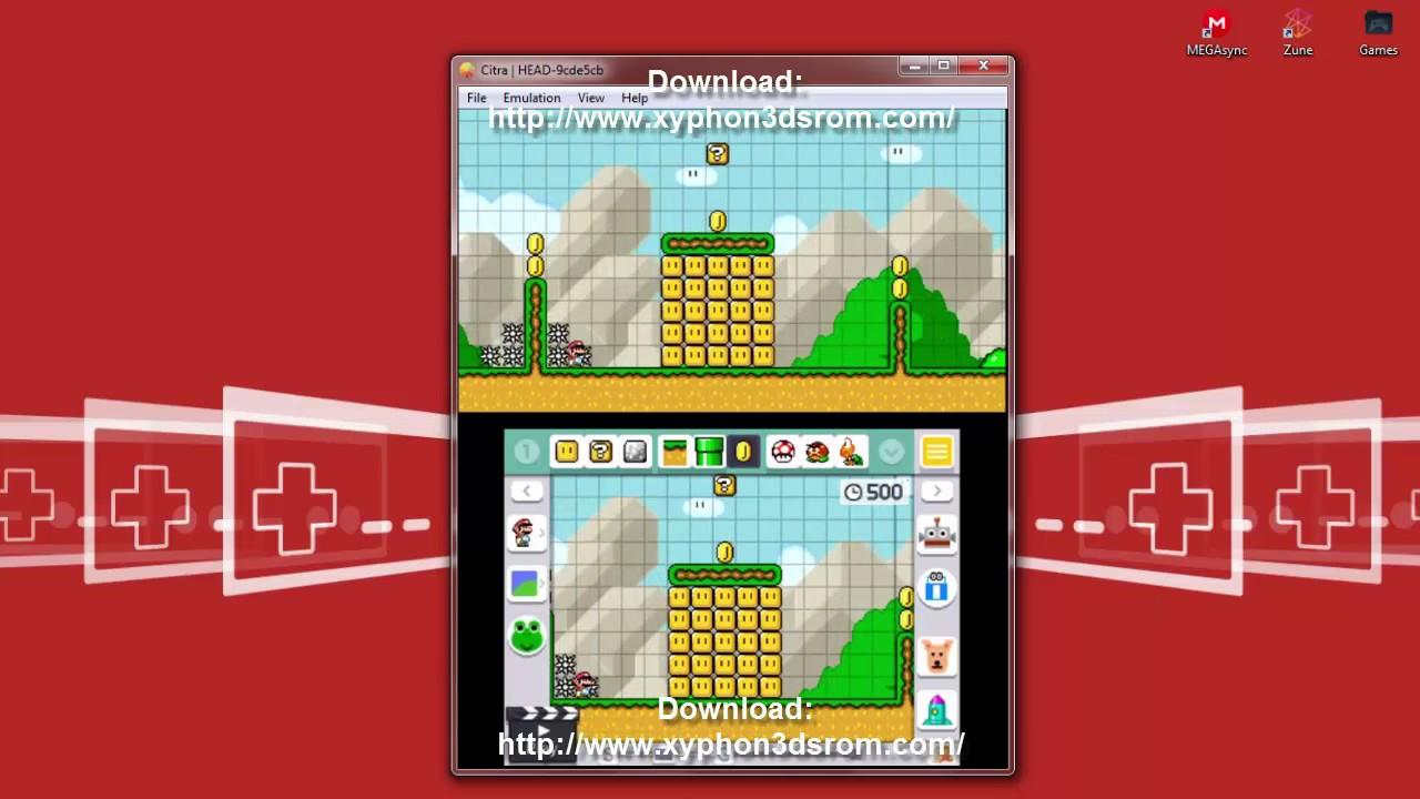 Download Super Mario Maker 3DS CIA ROM (U)(EUR) Version ...