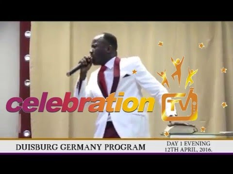 Duisburg Germany Program with Apostle Johnson Suleman, (day 1 evening, PART 3)