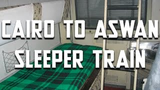 Overnight Sleeper Train- Cairo to Aswan