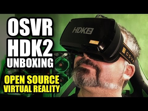 Razer's OSVR HDK 2 Virtual Reality Headset - Unboxing