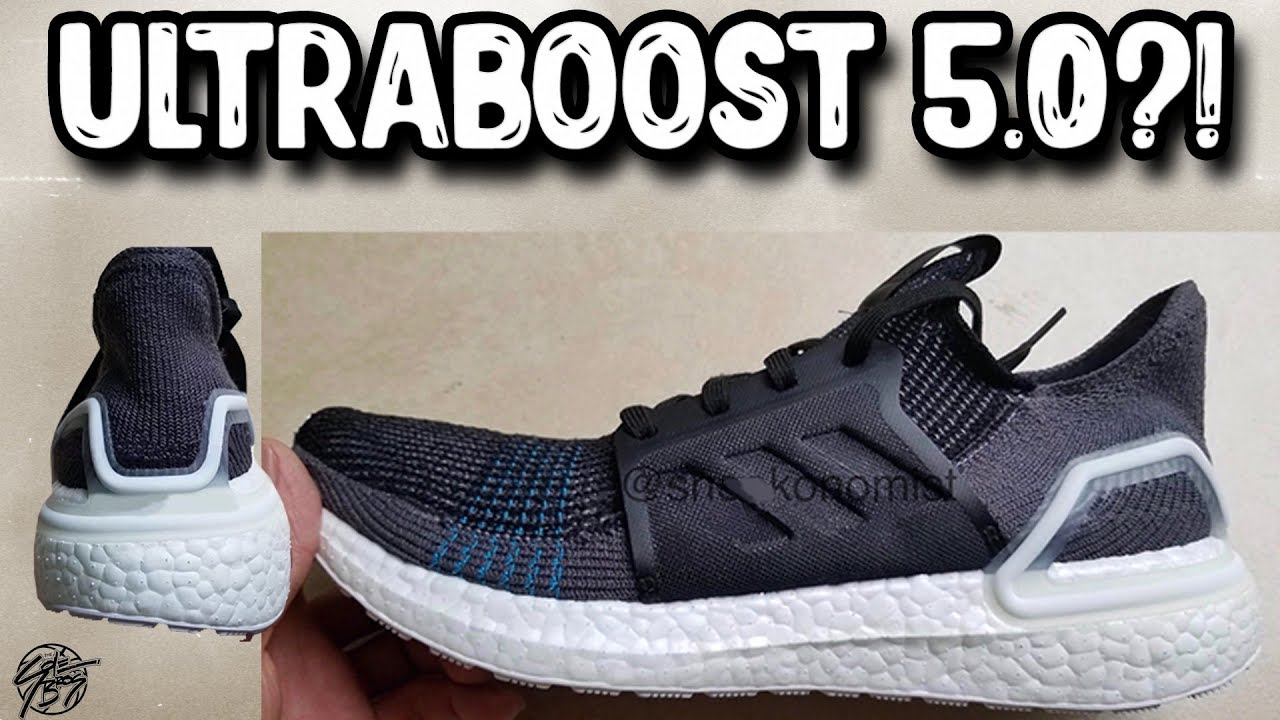 11e8fc17e8e50 Adidas Ultraboost 5.0 LEAK ! - YouTube