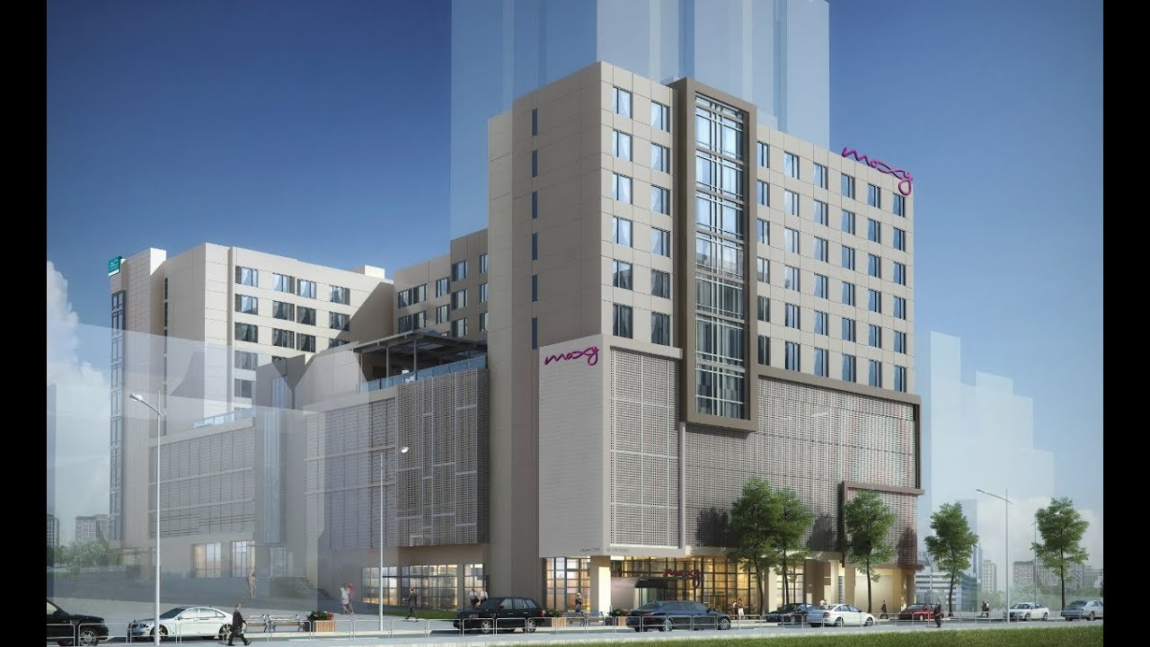 Dual Branded Ac Hotels By Marriott And Moxy Hotel Atlanta Ga