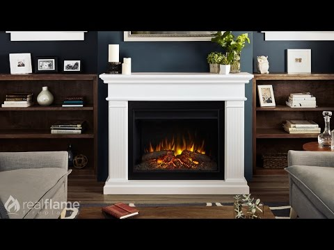 Real Flame - Kennedy Grand Series Electric Fireplace