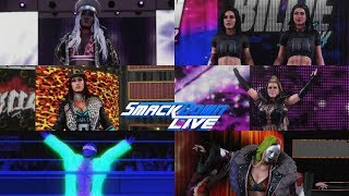 WWE 2K19 SMACKDOWN LIVE 7 WOMEN'S GAUNTLET MATCH WINNER FACE RONDA ROUSEY AT THE ROYAL RUMBLE