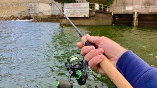 Spillway Trout Fishing Blue Ridge Dam