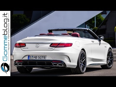 Mercedes S63 AMG Cabriolet 2018 AWESOME Sports Luxury Car