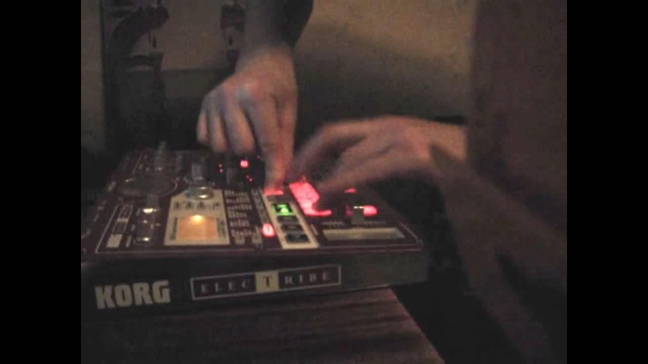 korg esx-1 rough jam - youtube