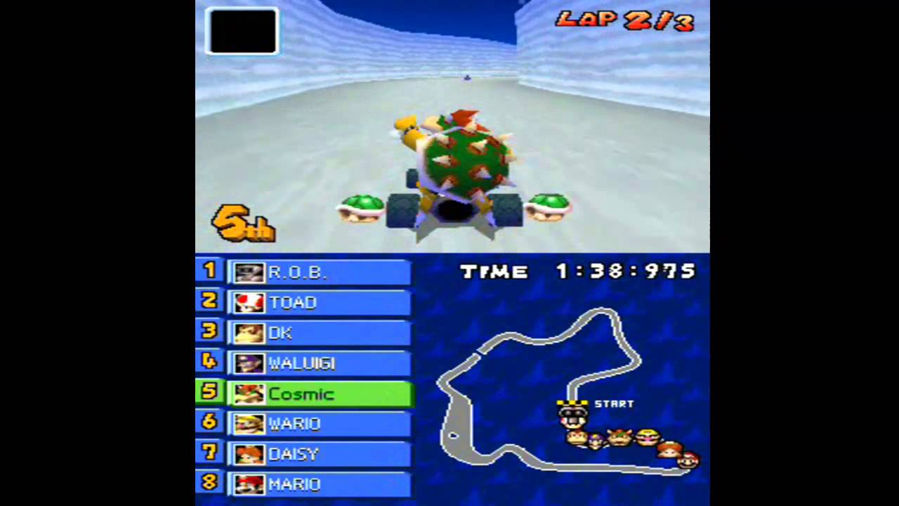 Mario Kart Ds Complete Walkthrough Bowser Gameplay Hd Youtube
