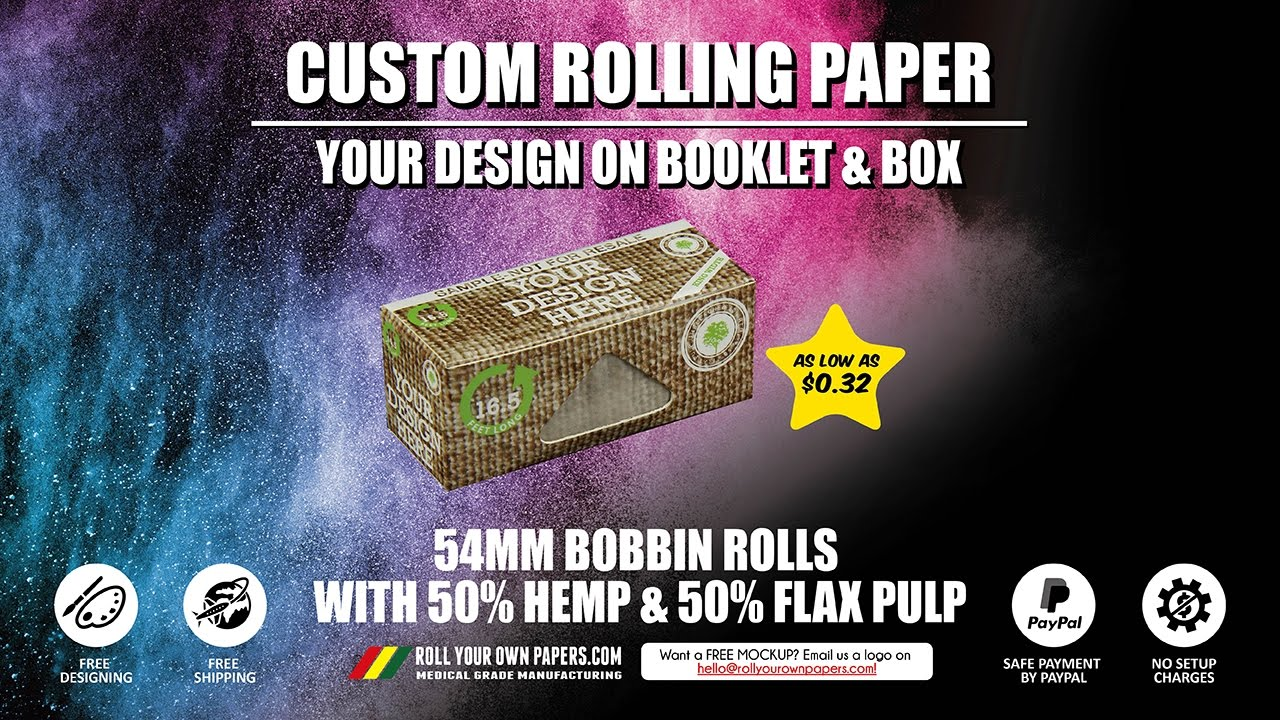 buy custom rolling papers 10 unique rolling papers you don't you can buy a pack of 12-inch king sizes papers -or- you can buy a a giant 15 foot rolling paper mary jane's diary.