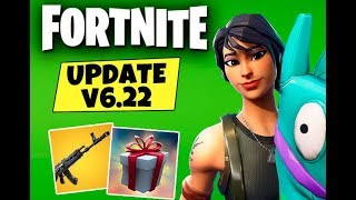 Fortnite | v6.22 Patch Update | MAP CHANGES | FOOTBALL FIELD | CYBERCAFE