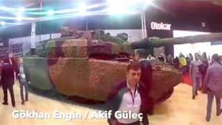 Altay Tankı showu  💪🏾 🇹🇷TÜRK KASI🇹🇷💪🏾  idef 2017