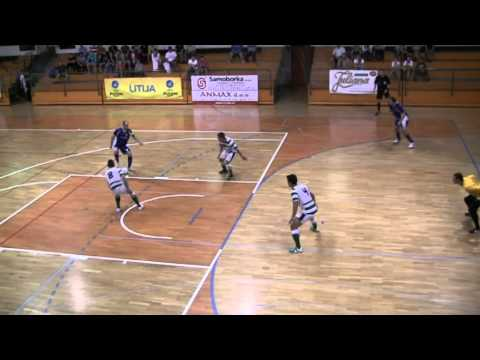 futsal.si: FC Litija - Sporting Club de Paris (07.09.2012)