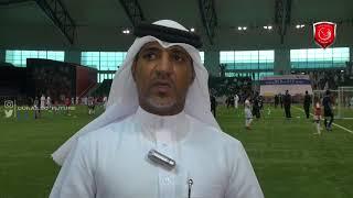 لقاء الكابتن _ فهد ثانى   رئيس إدارة تطوير كرة القدم