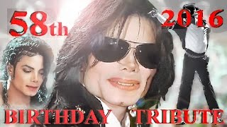 Michael Jackson s 58th birthday tribute 2016