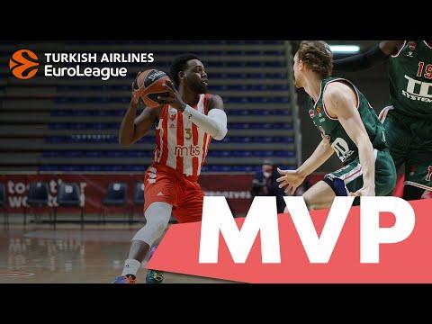 Turkish Airlines EuroLeague Regular Season Round 2 MVP: Jordan Loyd, Crvena Zvezda mts Belgrade