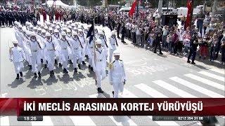 İki meclis arasında kortej yürüyüşü 30 Ağustos 2017