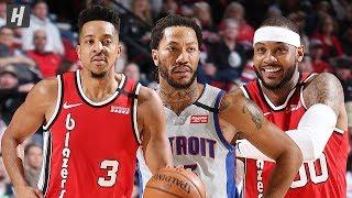 Detroit Pistons vs Portland Trail Blazers - Full Highlights   February 23, 2020   2019-20 NBA Season