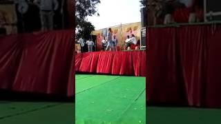 New punjabi song Garry Bains  Inder Sekhon  live stage live Gangster song