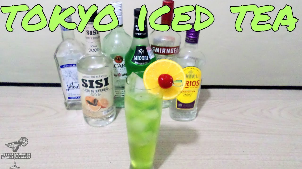 tokyo iced tea tragos y u0026 shots