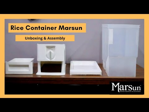 rice-container-marsun-|-15-kg-rice-dispenser-|-unboxing-&-assembly
