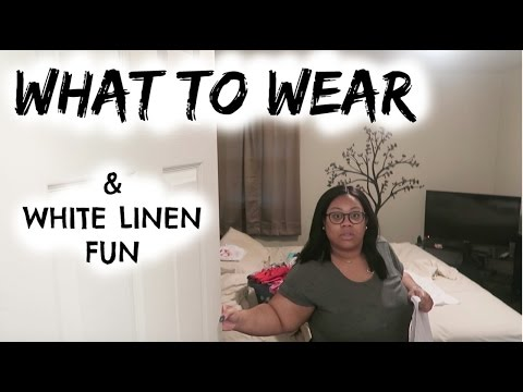 What to wear & White linen fun | Vlog #40