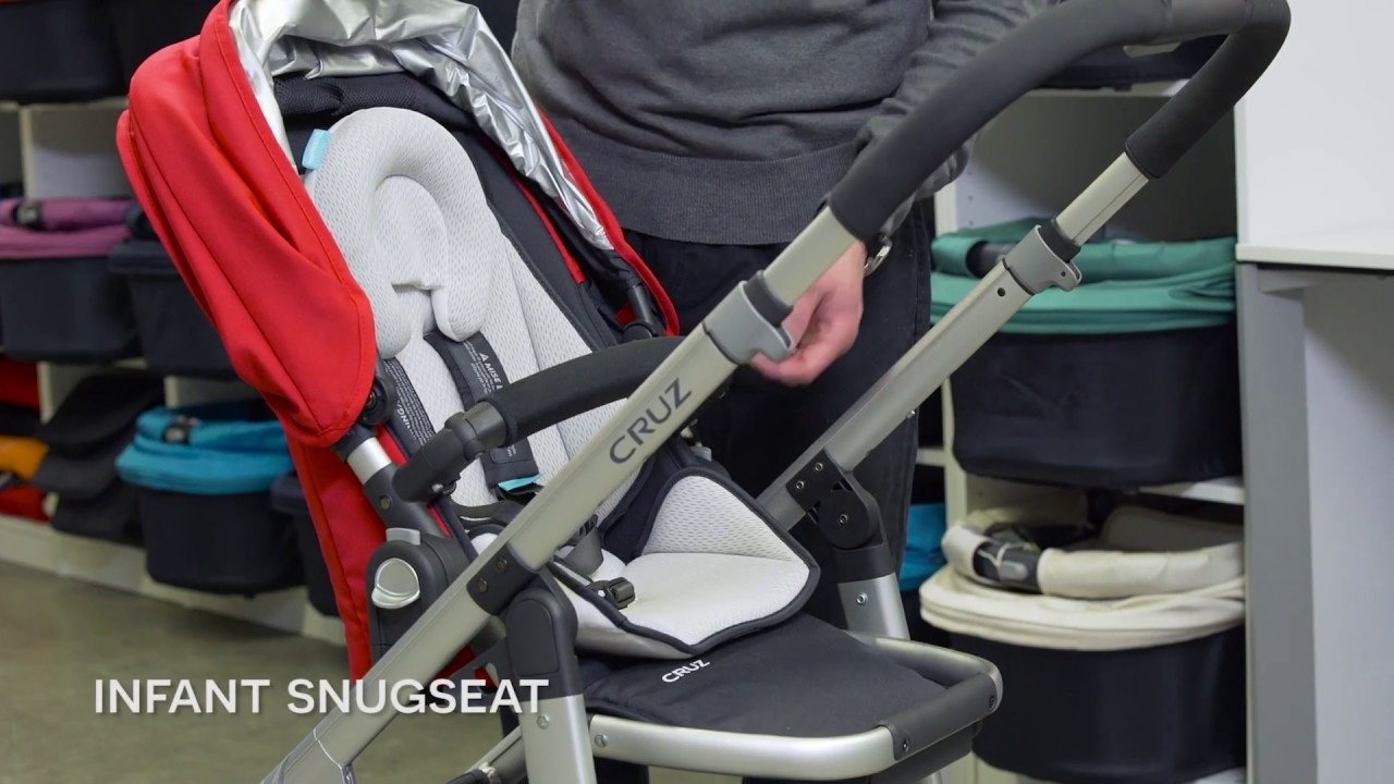Uppababy Cruz Stroller Instructional Overview - YouTube
