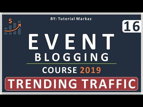 16 Complete Event Blogging Course 2019 in Urdu | Google Trends for Website Traffic by Mentor Online