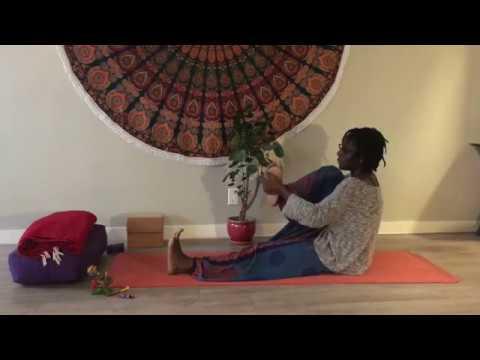 Post-Work Leg & Spine Stretch (Cannabis-enhanced Yoga)