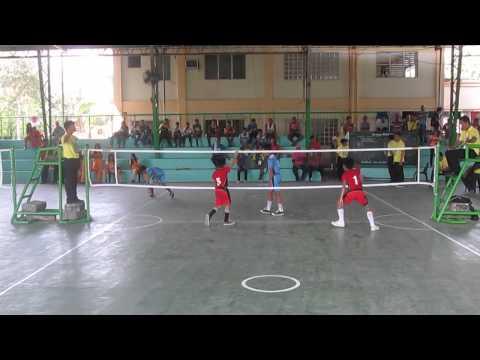 palarong pambansa 2015 sepak takraw junior CARAGA vs. WVRAA Championship Match