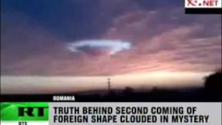 strange russian clouds