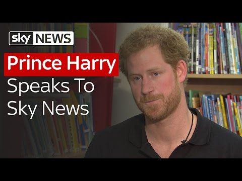 Prince Harry Speaks To Sky News